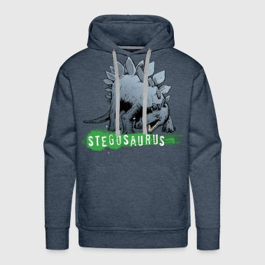 Animal Planet Stegosaurus - Men's Premium Hoodie