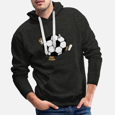 Arabic sport soccer club huge kicker goal ball ball - Men's Premium Hoodie