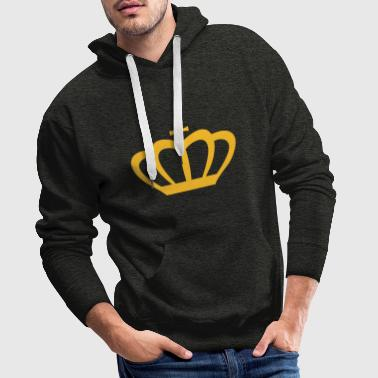 Crown Winner King Queen Princess - Mannen Premium hoodie