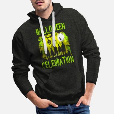 Halloween Celebration Halloween celebration - Men's Premium Hoodie