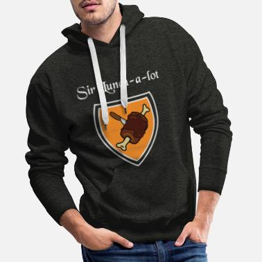 Sir Sir Lunch a lot - Männer Premium Hoodie
