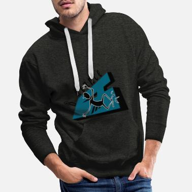 Designer Balance graphic design - Men's Premium Hoodie