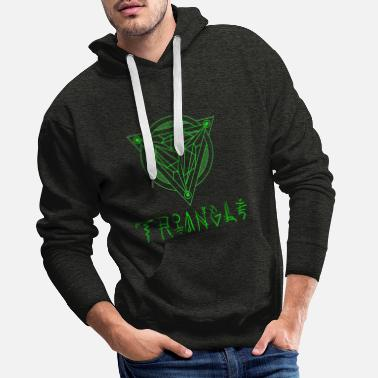 Triangle Triangle de la mythologie du triangle des cultures - Sweat à capuche premium Homme