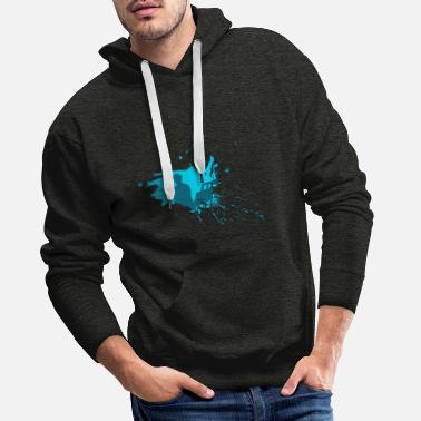 Sit Painter sit - painter sitting - Men's Premium Hoodie