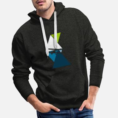 Airfield Model airplane airfield - Men's Premium Hoodie