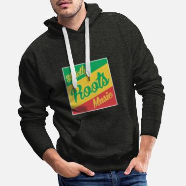 Culture Strictly Roots Music - Sweat à capuche premium Homme