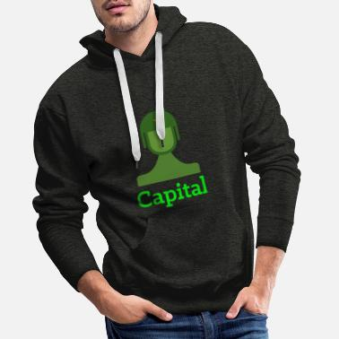 Capitale capital - Sweat à capuche premium Homme