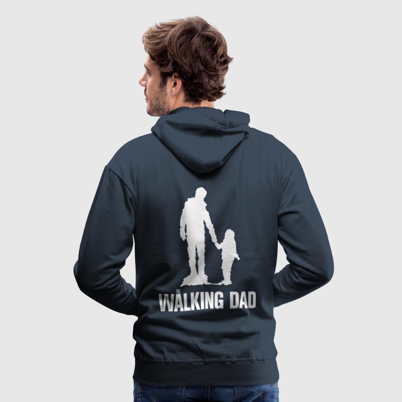 Walking Dad, Rahmen von zwodesign | Spreadshirt