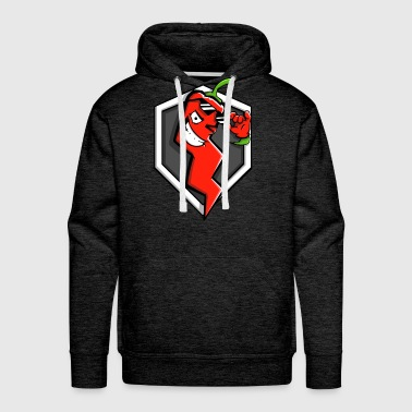 World Of Tanks Blitz Red Pepper Logo - Men's Premium Hoodie