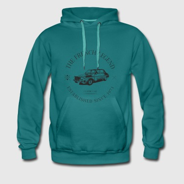RENAULT R12 GORDINI FRENCH CAR - Sweat-shirt à capuche Premium pour hommes