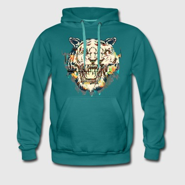 TIGER BREAK TOO - Männer Premium Hoodie