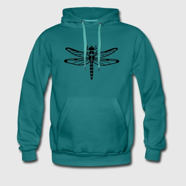 Dragonfly - insect - Men's Premium Hoodie