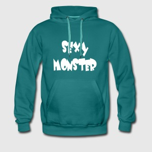 Sexy Monster - Sayings Monster Collection - Men's Premium Hoodie