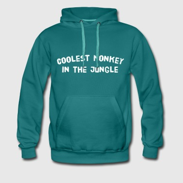Coolest monkey in the jungle - Men's Premium Hoodie