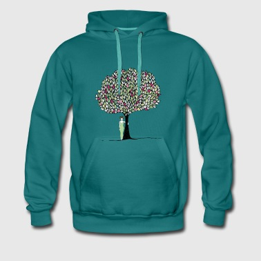 I love trees - Men's Premium Hoodie