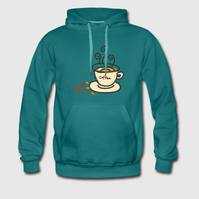 For the sake of coffee - Men's Premium Hoodie