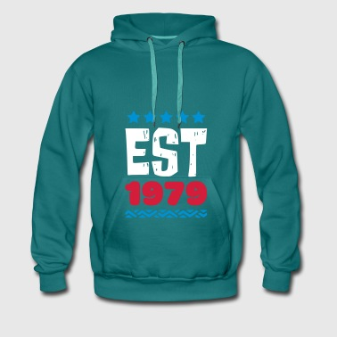 EST 1979 - ESTABLISHED IN 1979 - Men's Premium Hoodie