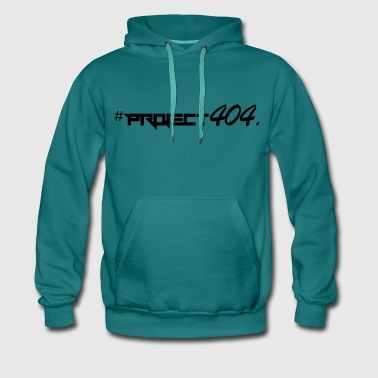 project404 final black - Men's Premium Hoodie