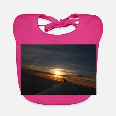 Flight sunset flight - Baby Bib