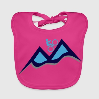 Mountain bike - mountain bike - Baby Organic Bib