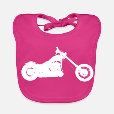 Chopper softail chopper - Bio-slabbetje voor baby's