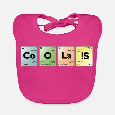 Periodic Table cool periodic table - Baby Organic Bib