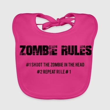 Zombie: Zombie Rules - # 1 The Zombie In The - Baby Organic Bib