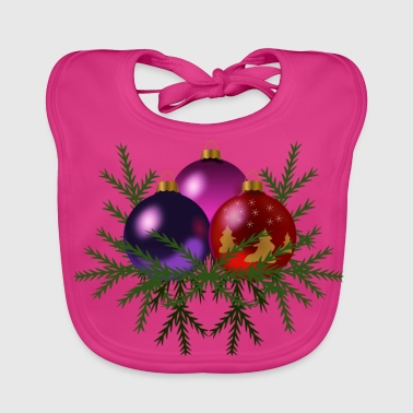 Christmas decoration - Baby Organic Bib