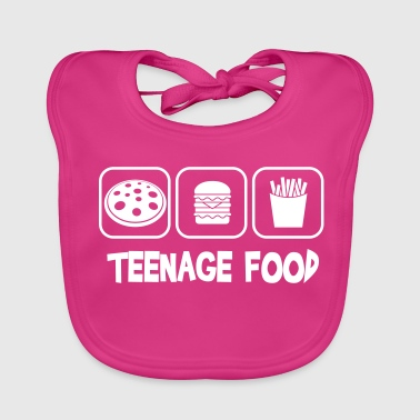Teenage food - Bavoir bio Bébé