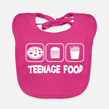 Teenager Teenage food - Baby Organic Bib