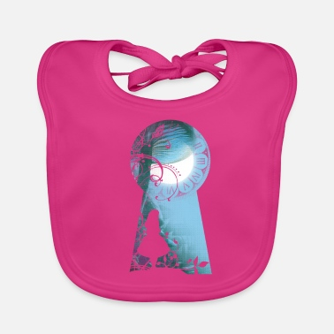 Alice In Wonderland Alice in Wonderland - Bio-slabbetje voor baby's