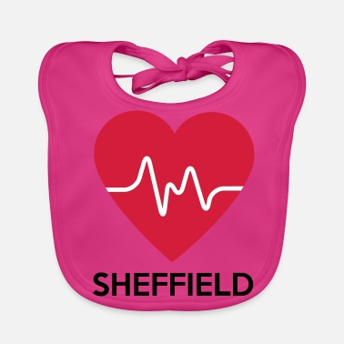 Sheffield heart Sheffield - Baby Organic Bib