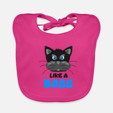 Like A Boss CAT | LIKE A BOSS - Ekologisk babyhaklapp