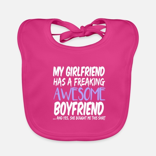 Freaking Awesome Boyfriend Valentines Day Gift Lätzchen Spreadshirt