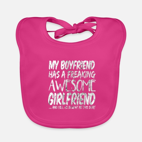 Freaking Awesome Girlfriend Valentines Day Gift Lätzchen Spreadshirt