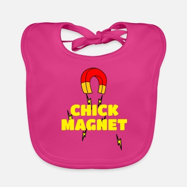 Chick Magnet Chick magneet womanizer - Bio-slabbetje voor baby's