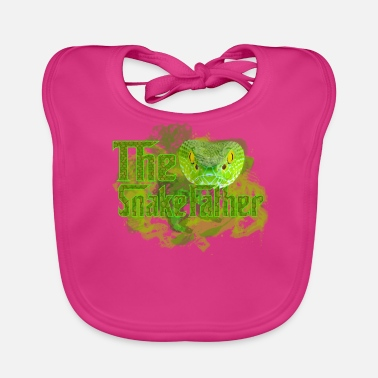 The Snake Father - Baby Organic Bib