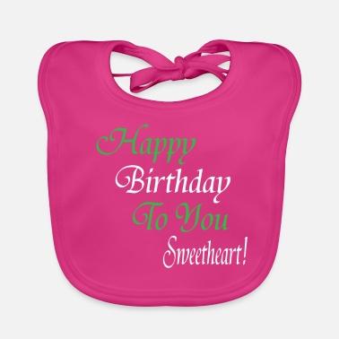 Hartelijk Gefeliciteerd Met Je Verjaardag Baby Slabbetjes Online