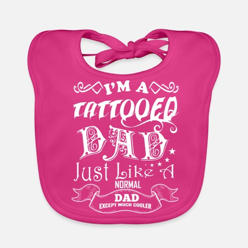 Birthday Gift Father Tattoo Dad Father S Day Baby Bib Spreadshirt