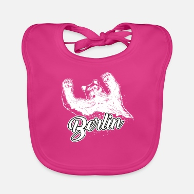 Berlin Bear Berlin and the bear - Baby Organic Bib