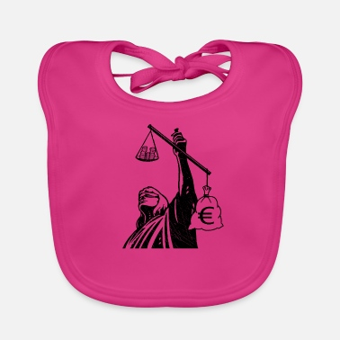 Injustice Injustice class struggle redistribution finances - Baby Bib