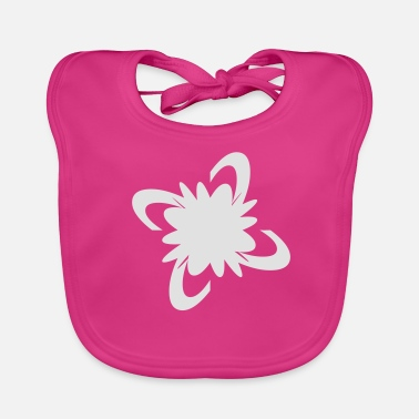 Bloom Flower bloom pop summer bloom - Baby Organic Bib