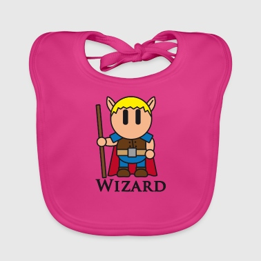 Dungeons And Dragons Wizards of RPGs like Dungeons & Dragons - Baby Organic Bib