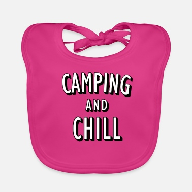 Camping and Chill - Baby Bib
