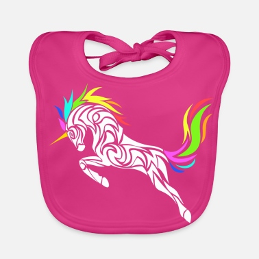 Stylish UNICORN STYLISH - Bio-slabbetje voor baby's