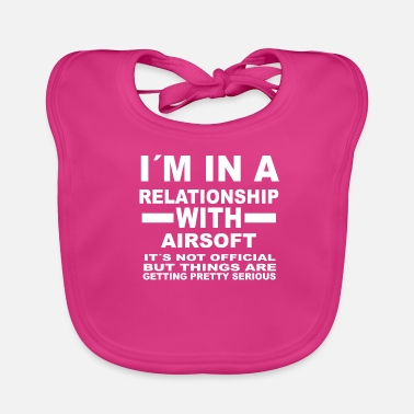 Airsoft relationship with AIRSOFT - Baby Organic Bib