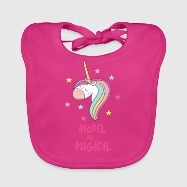 Magical Model - Baby Organic Bib
