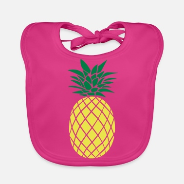 Stylish PINEAPPLE STYLISH - Bio-slabbetje voor baby's