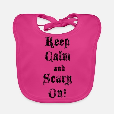 Scary Scary On! - Baby Organic Bib