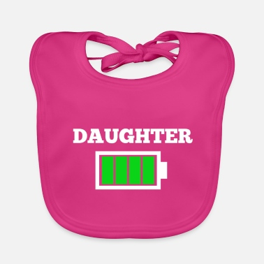 Daughter DAUGHTER - Baby Bib